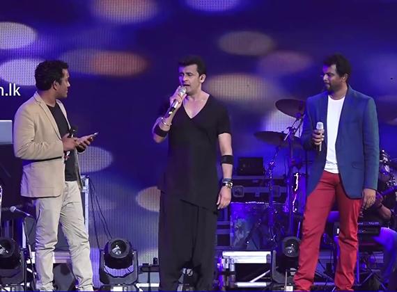 Sonu Nigam Live in Sri Lanka 2017