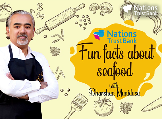 NTB - Fun facts about seafood with Dharshan Munidasa